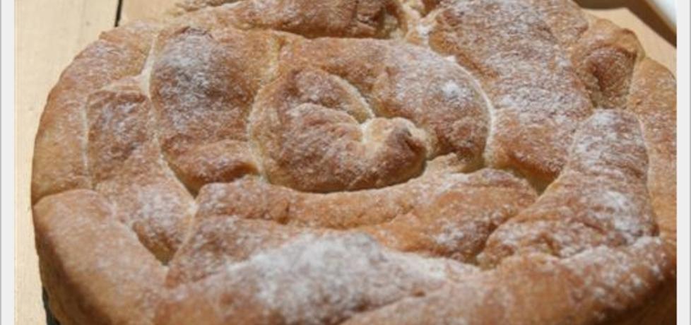 Chlebek w kształcie róży na słodko (autor: russkaya ...