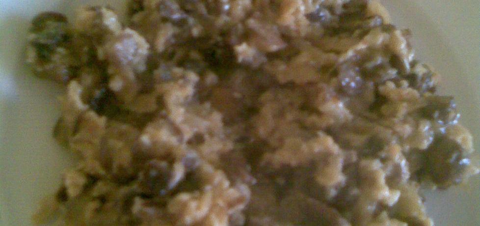 Grzyby duszone z jajkiem (autor: margo1)