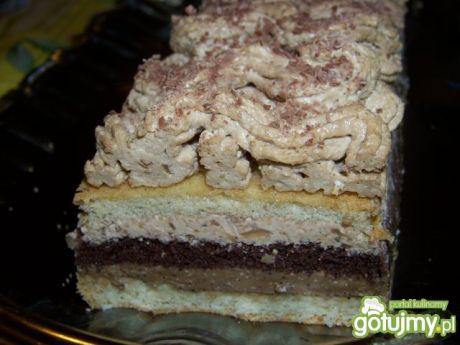 Przepis  ciasto kawka z capucino przepis