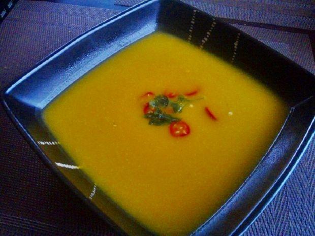 Przepis  zupa krem z dyni na ostro przepis