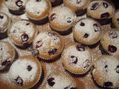Wiśniowe muffinki