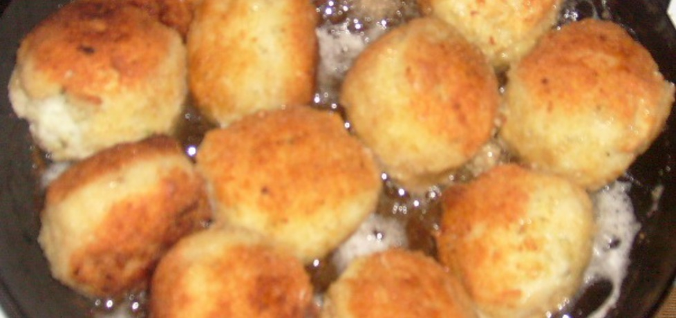 Kulki ryżowe z żółtym serem i koperkiem (autor: arleta