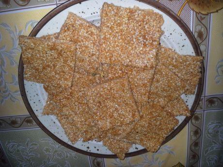 Przepis  ciasteczka sezamki przepis