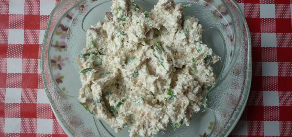 Pasta z wędzonej ryby, sera i cebuli. (autor: ikrakowianka ...