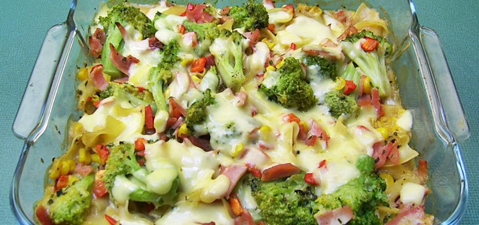 Kolorowa warzywna zapiekanka z makaronem (autor: ania84 ...