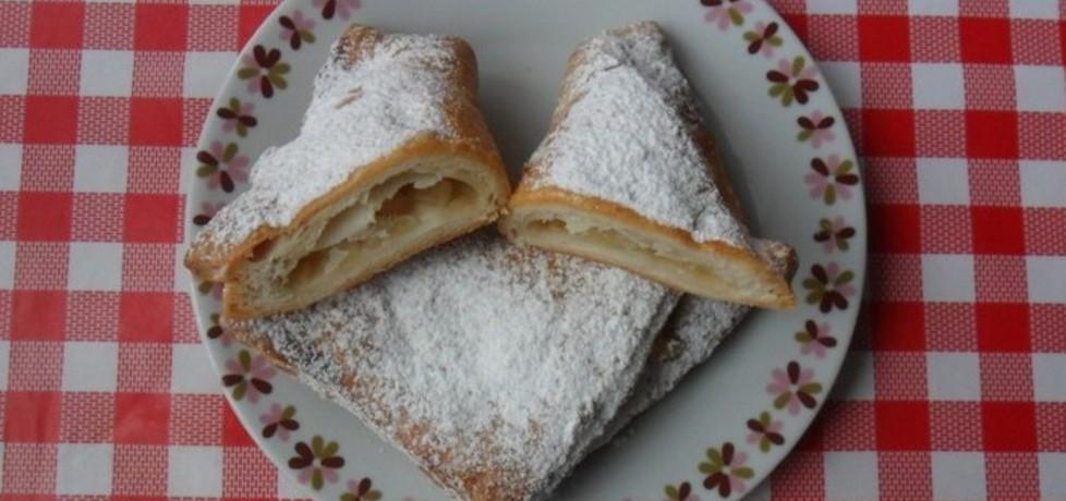 Rożki z ciasta francuskiego z jabłkami (autor: ikrakowianka ...