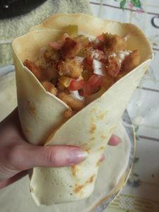 Drobiowy kebab