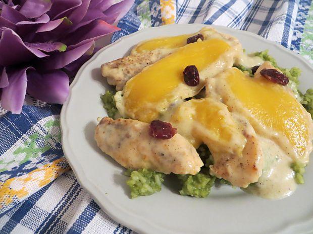 Przepis  pierś kurczaka z mango przepis