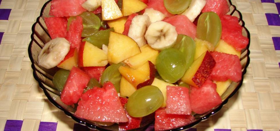 Sałatka owocowa z koniakiem (autor: seba)