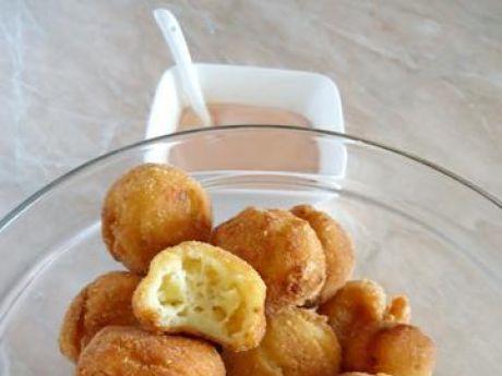 Przepis  kuleczki ziemniaczane z serem i cebulki przepis