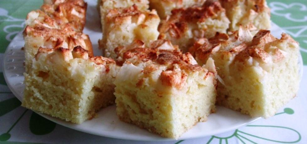 Ciasto na maślance z jabłkami i cynamonem, jak drożdżowe (autor ...