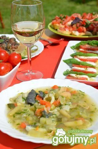 Przepis  włoska zupa minestrone przepis