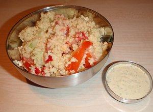 Sałatka z kuskusem  prosty przepis i składniki
