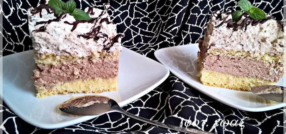 Kostka czekoladowa z grześkami zewy (autor: zewa ...