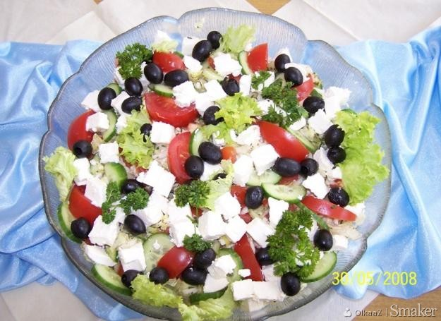 Sałatka grecka.