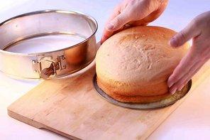 Biszkopt na tort  prosty przepis i składniki