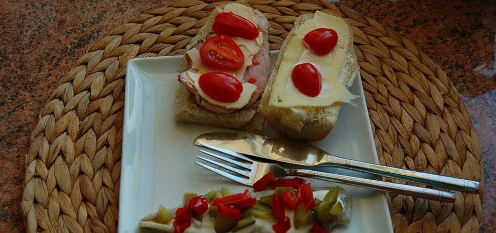 Śledzik pod pierzynką na kolację (autor: renata22)