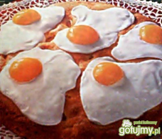 Przepis  wielkanocne sadzone jajko przepis