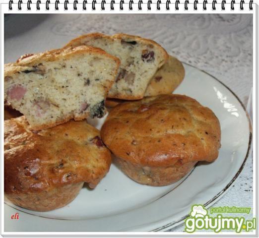 Przepis  muffinki a la pizza eli przepis
