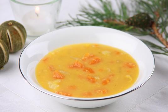 Zupa grochowa wigilijna
