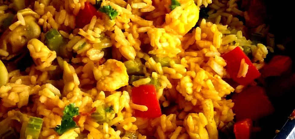 Ryż z owocami morza (autor: brioszka)