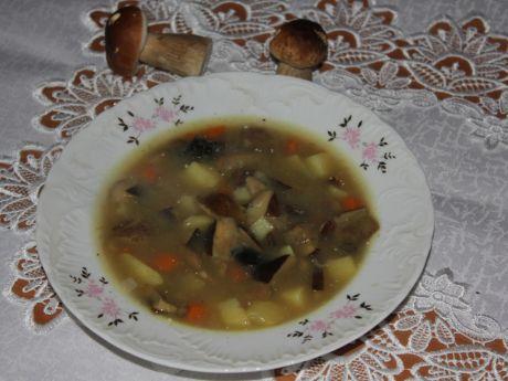 Aromatyczna zupa grzybowa (zupy)