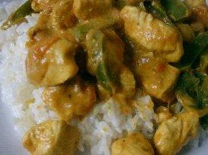 Kurczak curry  prosty przepis i składniki