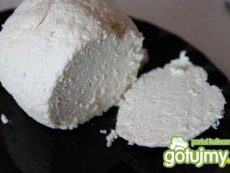 Przepis  domowy ser biały 2 przepis