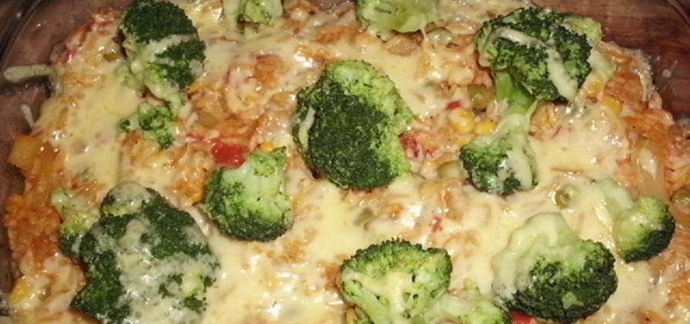 Zapiekanka warzywna z ryżem (autor: renataj)