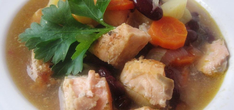 Zupa rybna z łososia (autor: jolantaps)