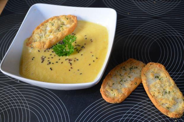 Przepis  zupa krem kalafiorowa przepis