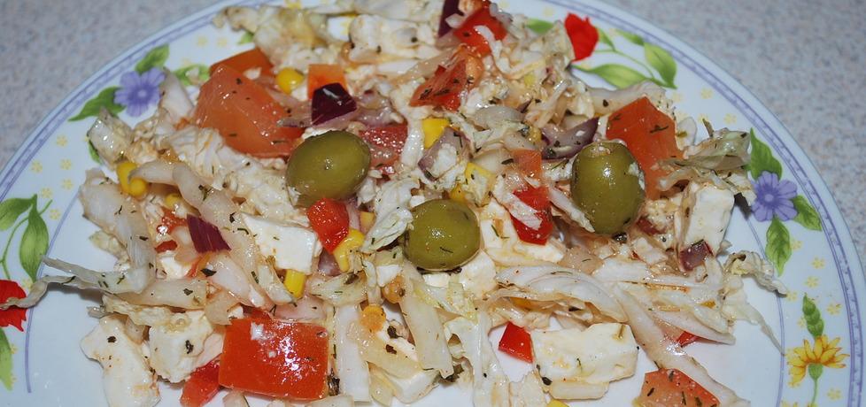 Salatka z feta (autor: dorotka0000025)