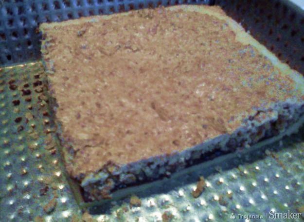 Ciasto orzechowe z płatków owsianych