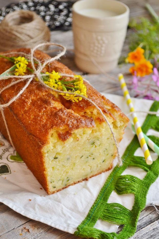Przepis  ciasto cytrynowo-cukiniowe przepis