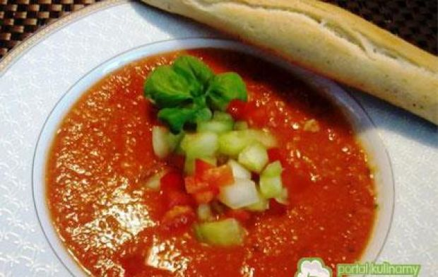 Przepis  moje gazpacho z melonem przepis