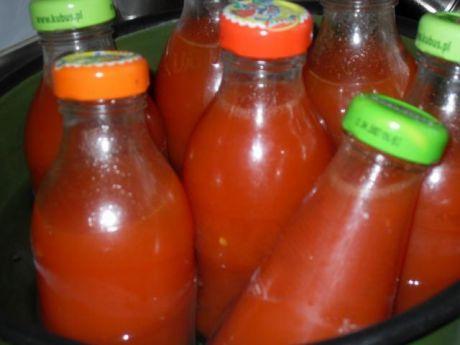 Przepis  sok pomidorowy wg starodawnego przepisu