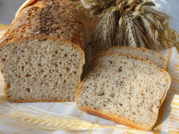 Przepis  chleb pytlowy z siemieniem lnianym przepis