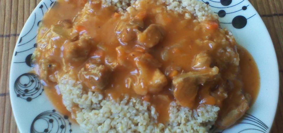 Kasza jęczmienna z sosem pomidorowym (autor: mira85 ...