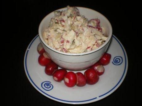 Przepis  sałatka z rzodkiewki i jajek przepis