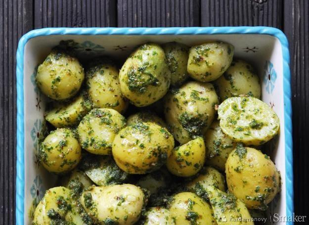 Ziemniaki z pesto