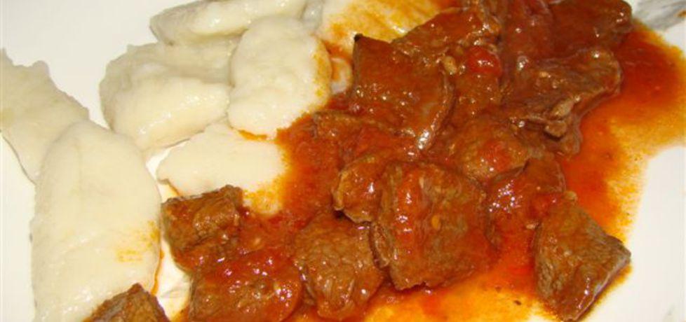 Gnocchi z gulaszem (autor: katarzynakate1980)