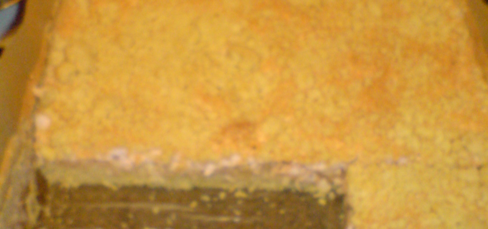 Ciasto jabłecznik z pianką (autor: tomek16)