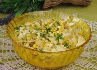 Sałatka jajeczno – chrzanowa