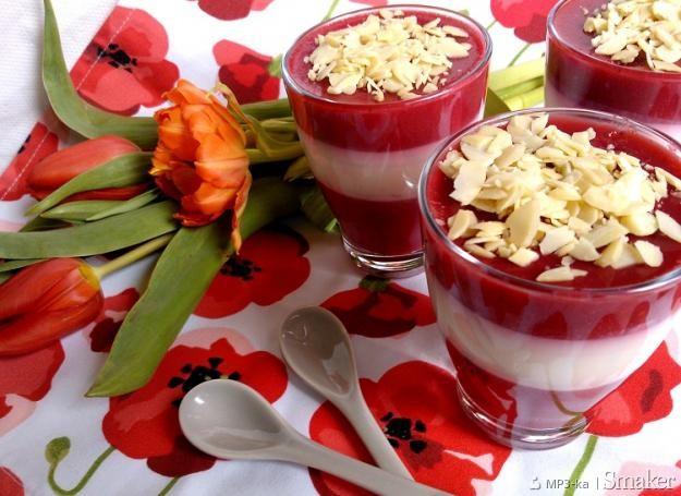 Deser mleczno  owocowy (dietetyczny)