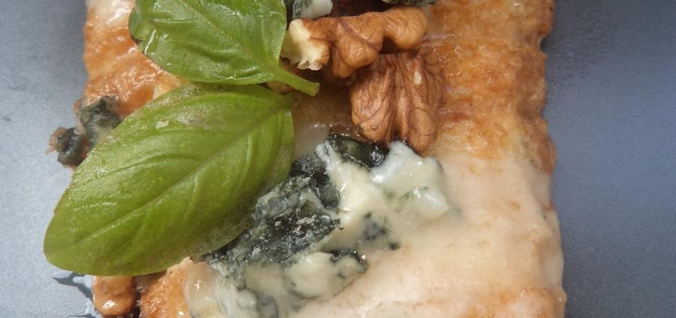 Grillowany filet z gorgonzolą i orzechami :) (autor: norweska20 ...