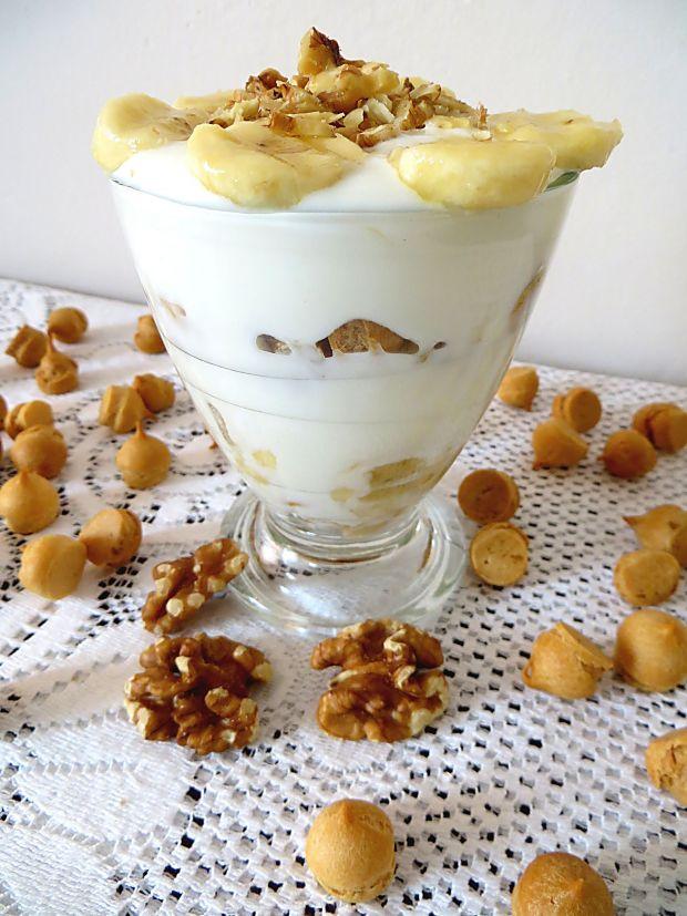 Przepis  jogurtowy deser przepis