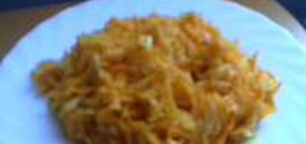 Surówka z marchewki pietruszki i cebuli (autor: pierniczkowo ...