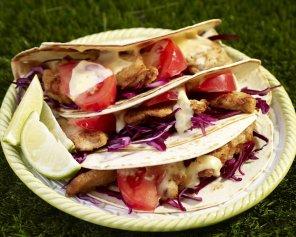 Tortille z kurczakiem  prosty przepis i składniki