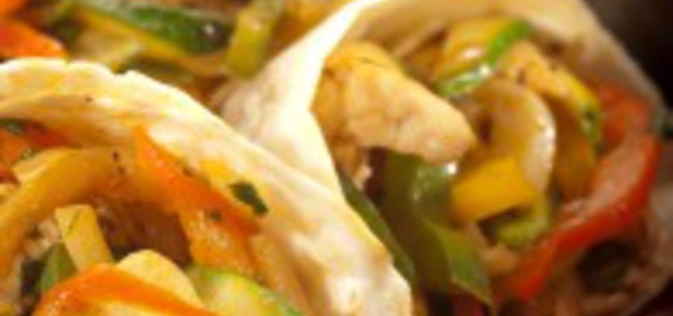 Gyros a la robert sowa z pikantnymi warzywami (autor: robertsowa ...