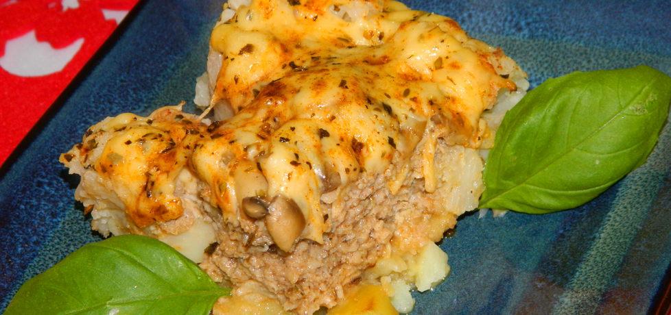 Zapiekanka z mięsem mielonym i kalafiorem (autor: czarrna ...